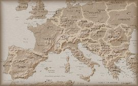 Free Download Antique Map Background