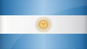 Argentina Flag Desktop Wallpaper