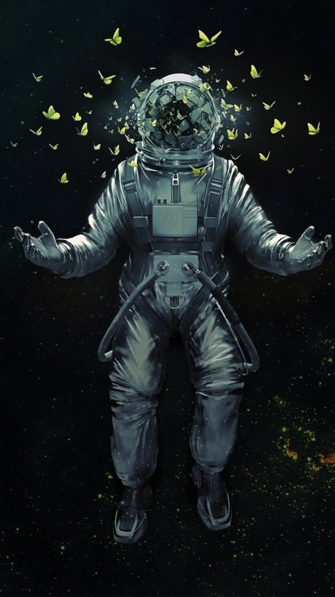 Iphone 5 Wallpaper Astronaut