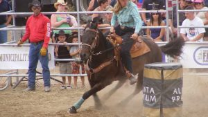 Barrel Racing Background HD