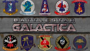 Battlestar Galactica Desktop Background