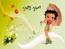 Betty Boop Halloween Wallpaper for Desktop