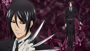 Black Butler Sebastian Japanese Manga Screen Captures Available