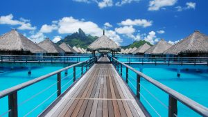 Bora Bora Exotic Destination Photos as Background HD