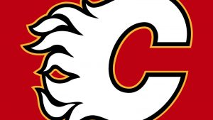 Calgary Flames Ice Hockey Team Captured as Backgrounds in High Definition