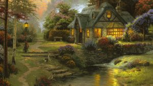 Free Download Cottage Wallpaper