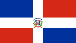 Dominican Republic Flag Wallpapers High Definition in Blue, White and Red
