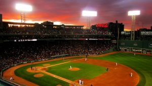 Fenway Park Baseball Park Pictures as Backgrounds
