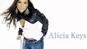 Alicia Keys Desktop Wallpaper HD