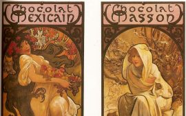 HD Alphonse Mucha Background Download