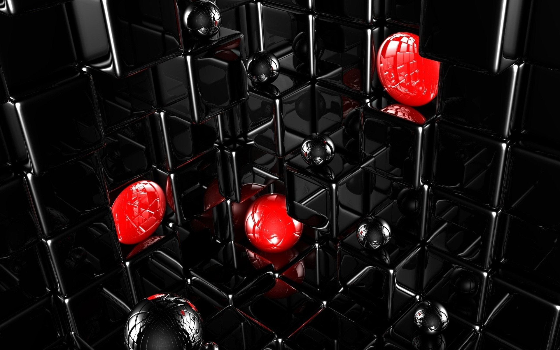 Wallpaperwiki Free Red And Black 3d Wallpaper PIC WPC009540