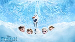 Cartoon Disney Frozen Backgrounds