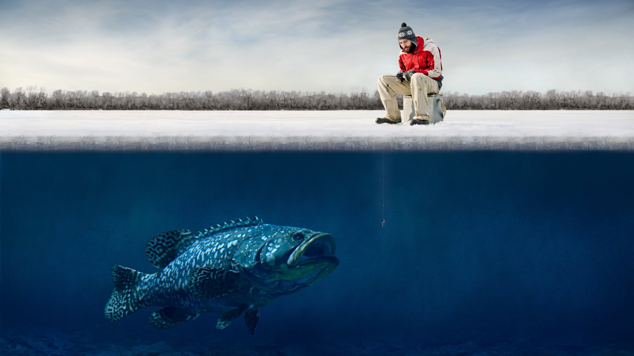 bass fishing background for desktop - wallpaper.wiki