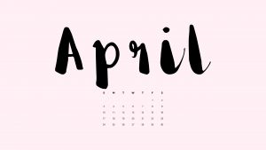 Free Download April Backgrounds