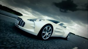 Aston Martin One 77 Background HD
