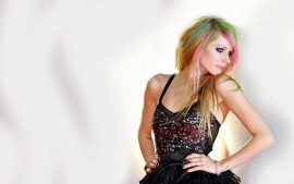 Avril Lavigne Desktop Background