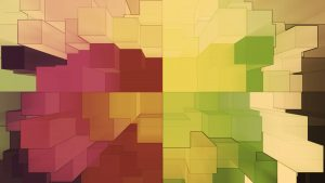 Blocks Make a Great Base for Wallpaper Designed Images for Desktops