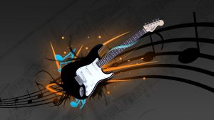 Electric Guitar Rock and Pop Music Backgrounds Free Download