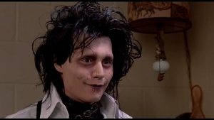 Edward Scissorhands Romantic Dark Fantasy Film Screenshot Pictures