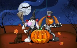 Disney Happy Halloween Not Scary Wallpapers in High Definition