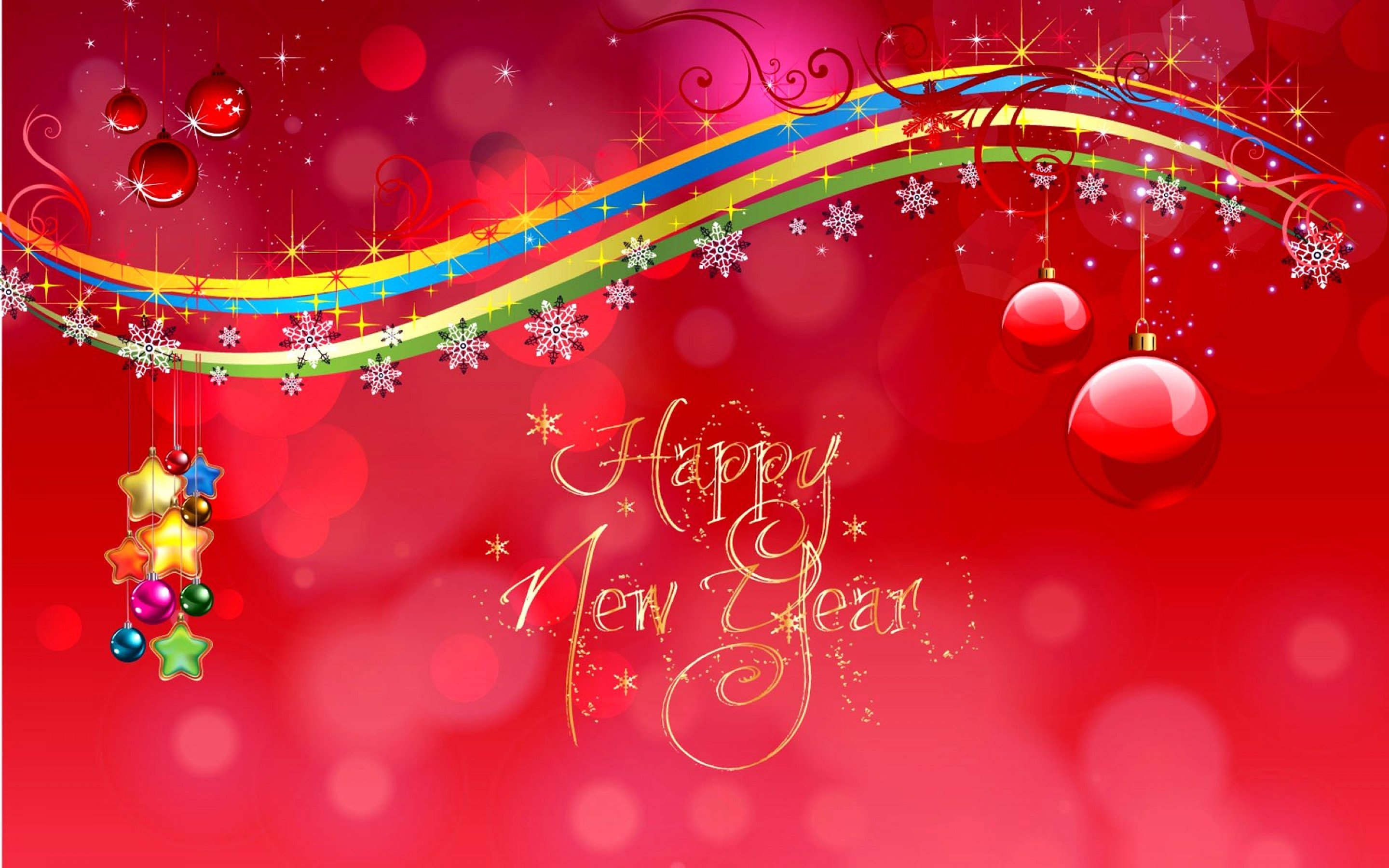 happy new year wallpaper hd wallpaperwiki