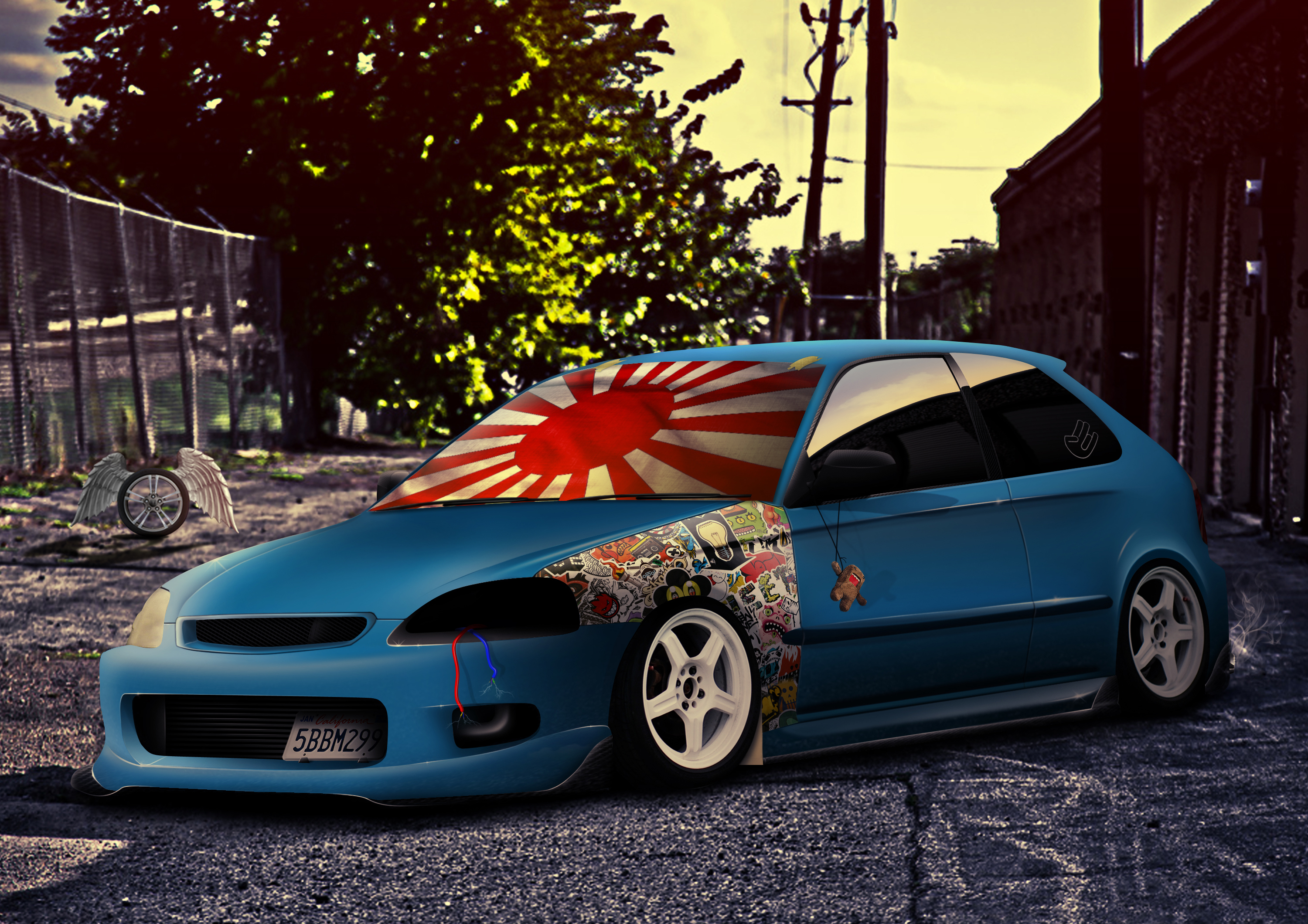 Wallpaperwiki Honda Civic Jdm Hd Wallpapers PIC WPB0012623