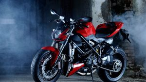 Ducati Motorbike High Speed Images