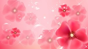 Bright Floral Background Free Download