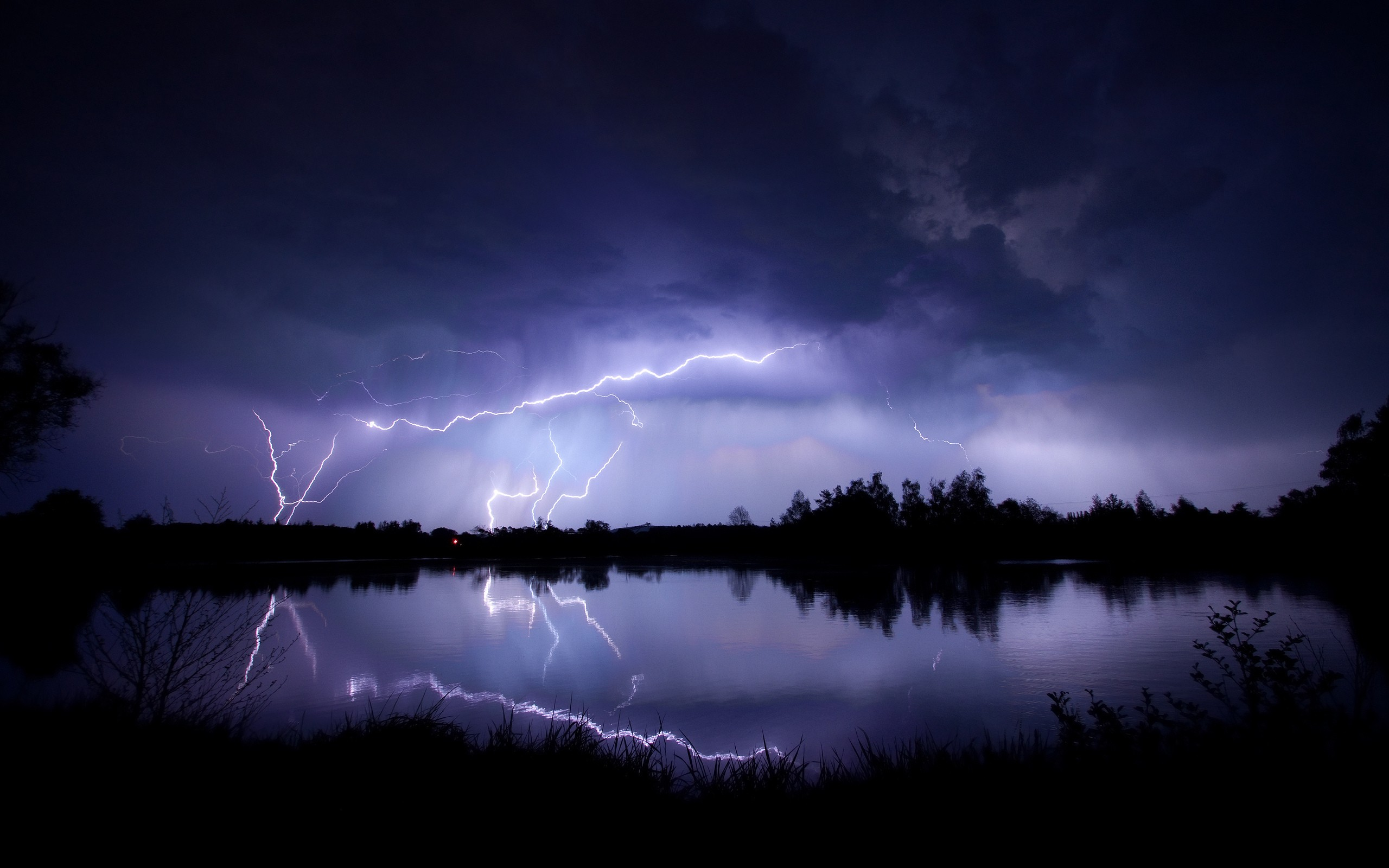 Wallpaperwiki Lightning Storm Wallpaper For Desktop PIC WPD001932
