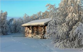 Log Cabin Backgrounds HD
