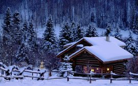 HD Log Cabin Wallpapers