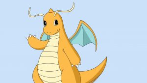 Dragonite (Japanese: カイリュー Kairyu) Pokemon Design Images