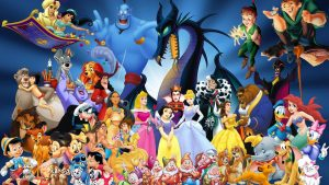 Disney Character Happy and Very Colourful Backgrounds Collated Here