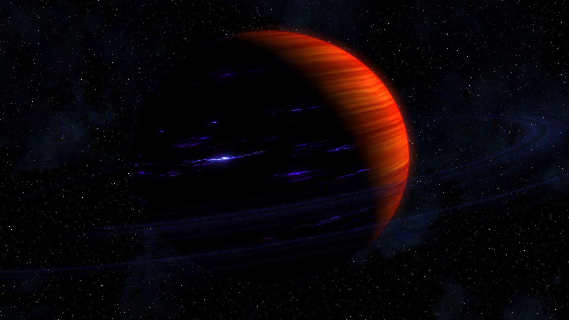 wallpaper.wiki-Planet-Orange-Space-1080p-Background-PIC-WPD008681