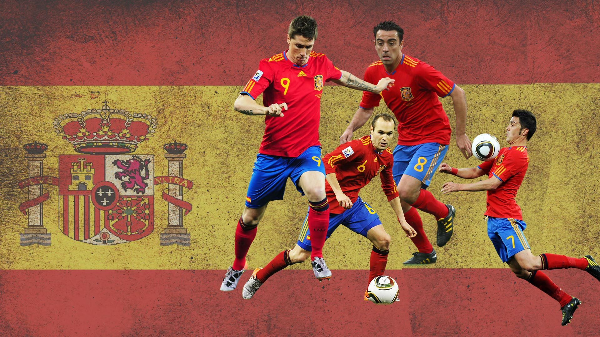 wallpaper.wiki Spain National Football Team And Flag Image 2 PIC WPC004167 Football Live Wallpapers HD