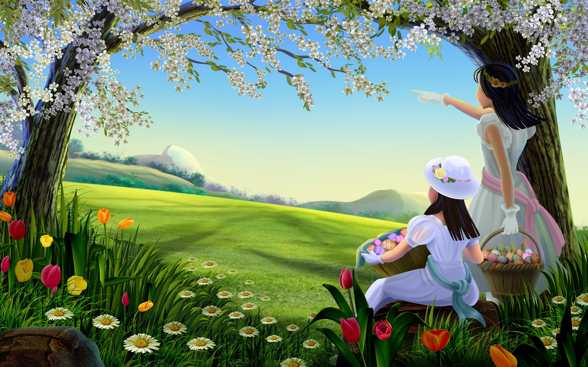Spring Full HD Wallpaper Walldes Download