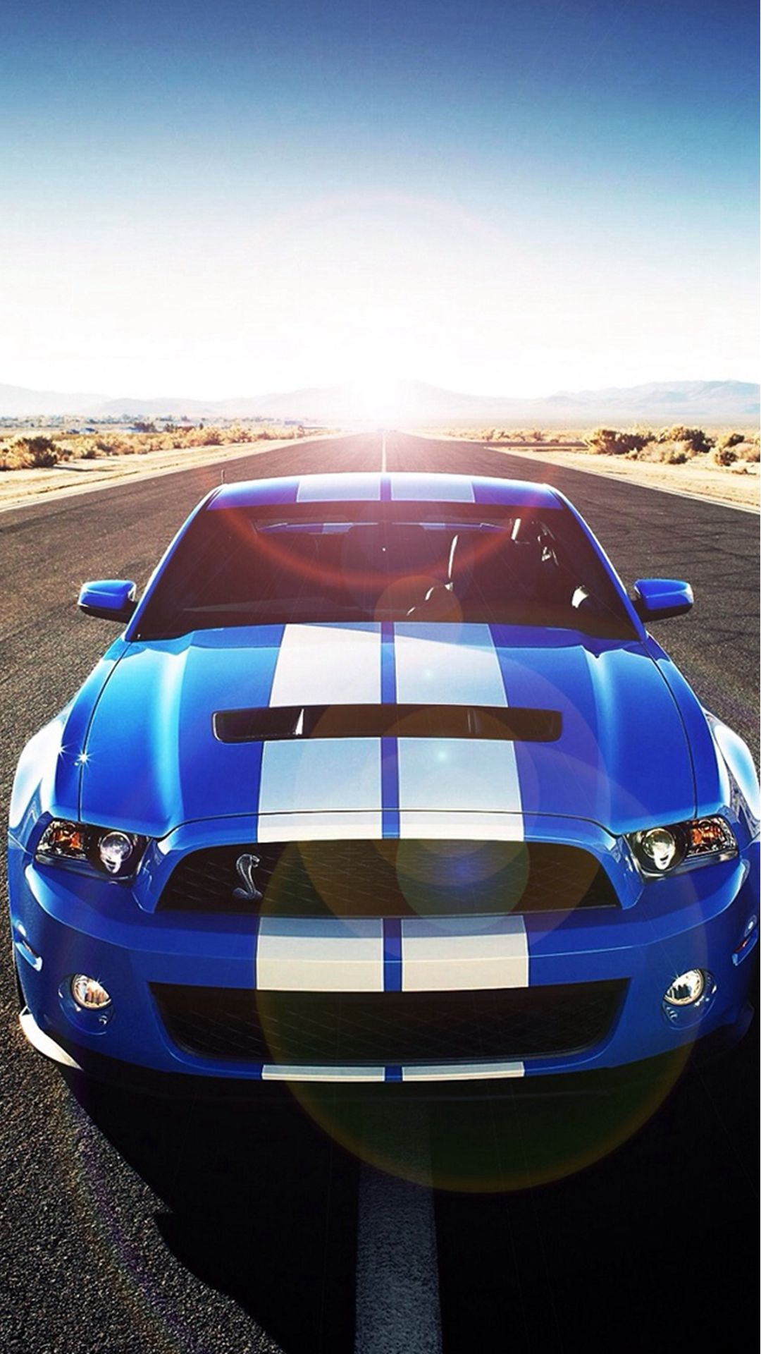wallpaper.wiki-Sunshine-Road-Blue-Cool-Car-iphone-wallpaper-PIC-WPC007914