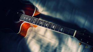 HD Acoustic Guitar Wallpaper
