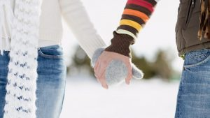 HD Winter Love Wallpaper