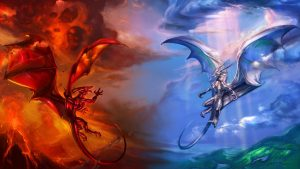 Dragons Awesome Fantastical Fire-Breathing Imagery Collection