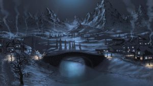 Beautiful Winter Night Wallpapers For All Screens