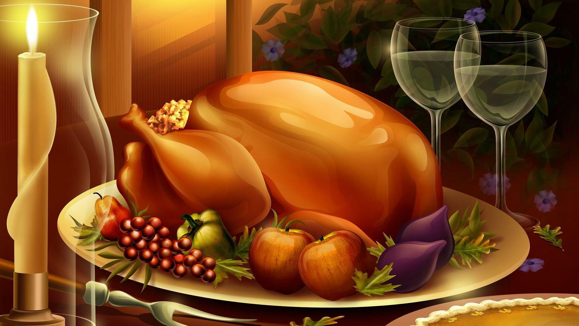 3D Thanksgiving Wallpapers 3D Thanksgiving HD Backgrounds