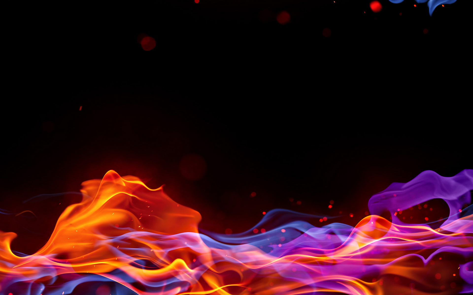 Abstract Fire Wallpaper HD