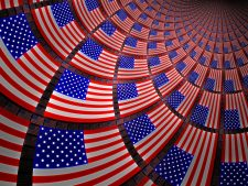 American Flag Background High Quality