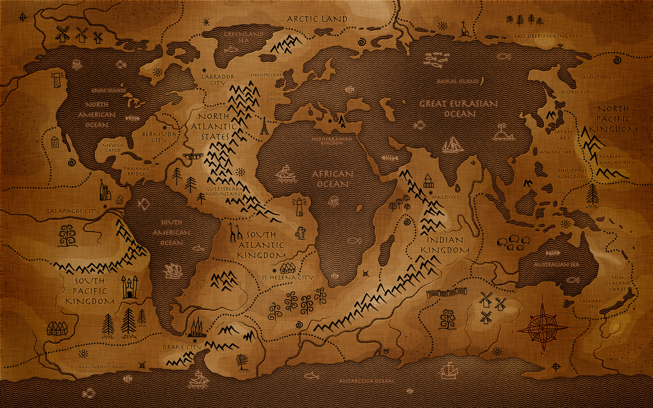 Background Travel World Map Wallpaper High Quality