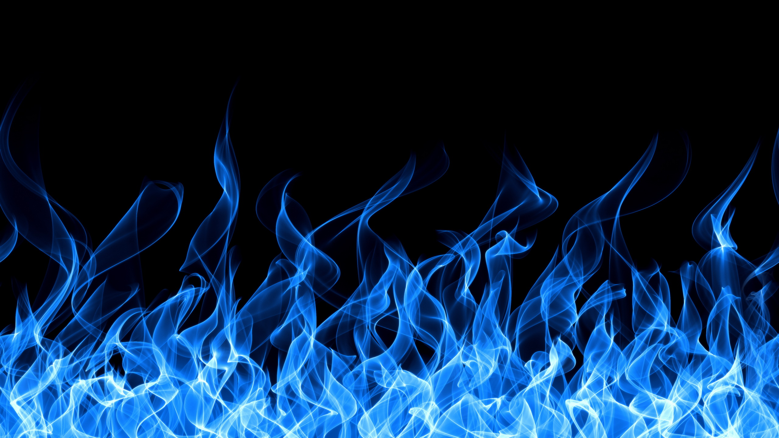 Blue Fire Wallpaper Hd Wallpaperwiki