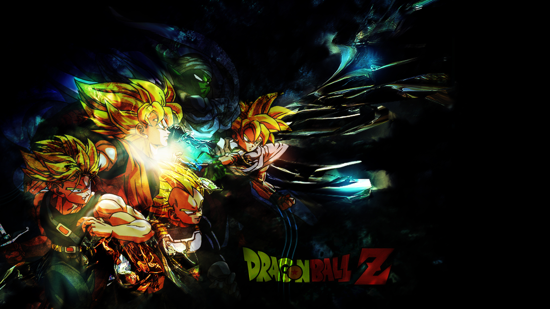 Dragon ball z hd backgrounds free download - 3d wallpaper of dragon ball z ...