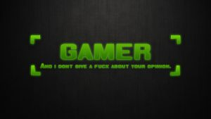 Gamer Backgrounds HD