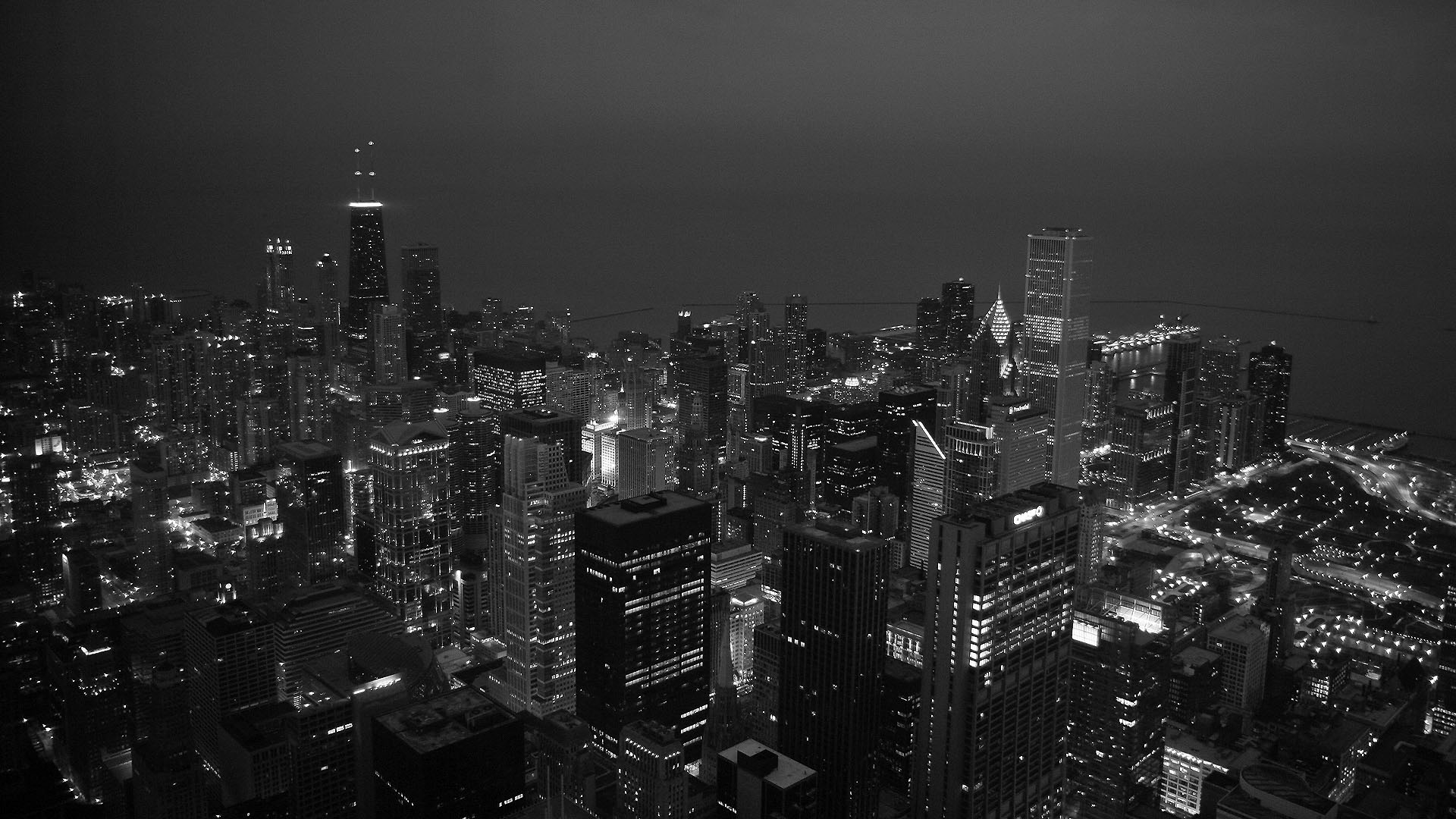 Black White Hd City Wallpapers