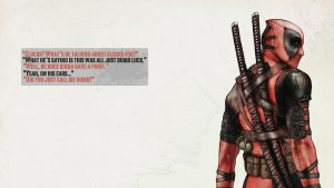Comics Deadpool Wallpaper download free